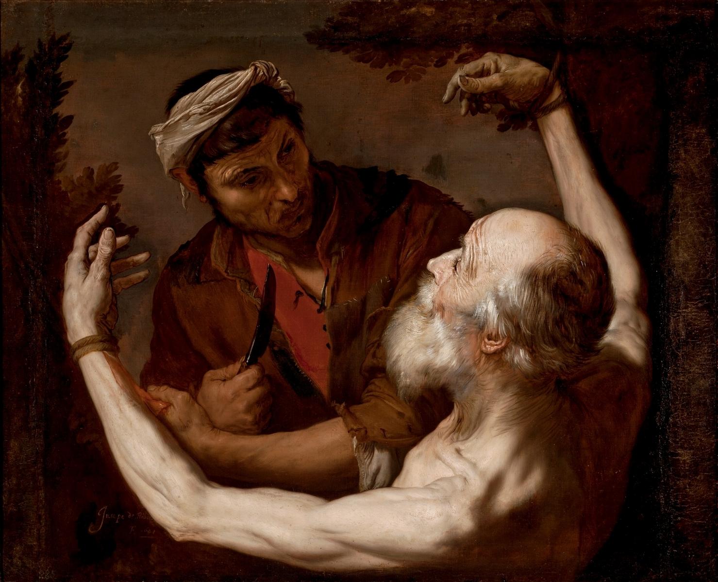 José de Ribera. The Martyrdom of Saint Bartholomew. 17th century