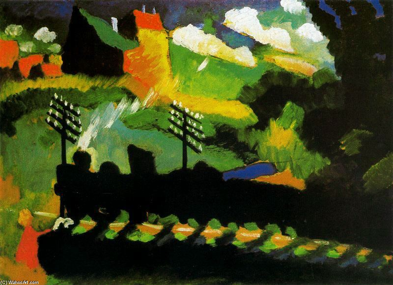 KANDINSKY-VIEW-OF-MURNAU-WITH-TRAIN-AND-CASTEL