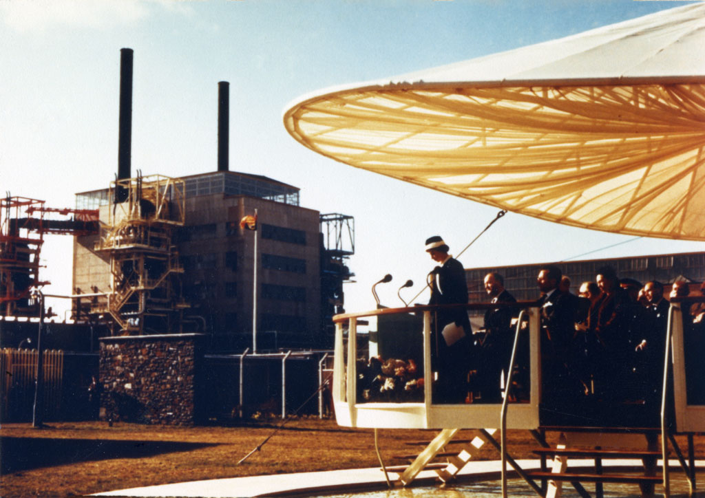 Открытие первой АЭС в Великобритании