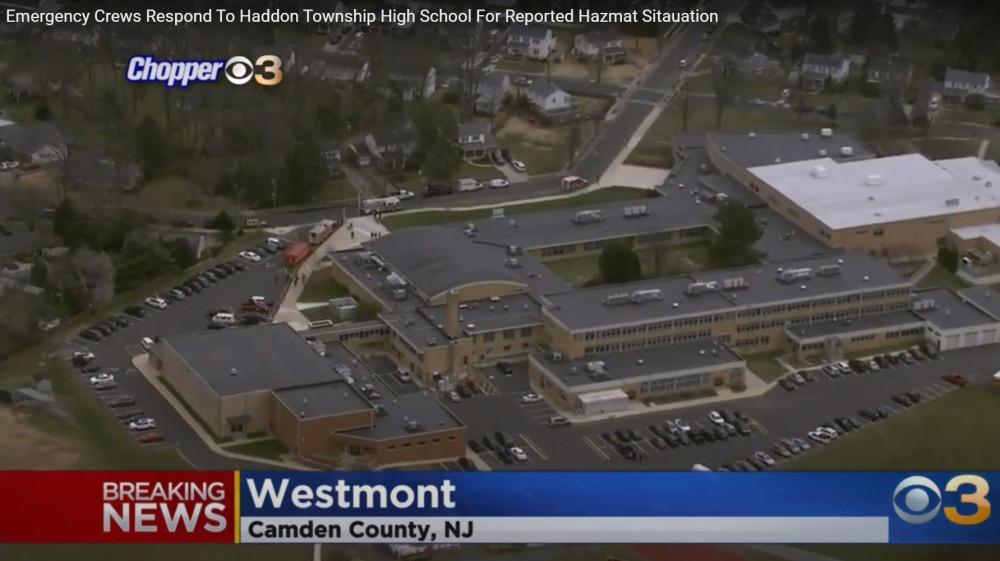 Эвакуация школы в США из-за радиоактивной тарелки