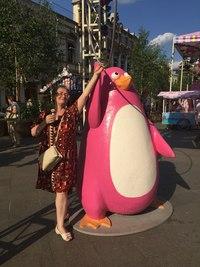 Мороженое-пингвин