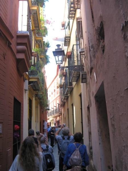 Sevilla-ulica