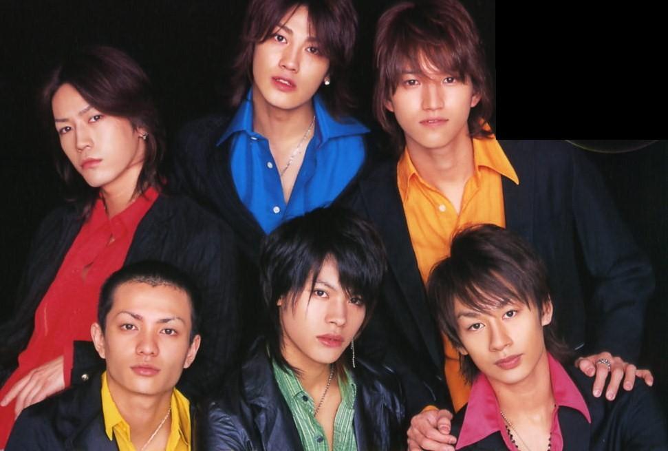 Myojo 200605 Young Cover KAT-TUN