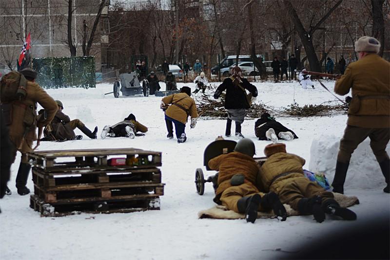 Репортажное. Про оборону Москвы.