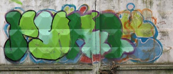 То, что происходит в нашем желудке, похоже на это граффити. Фото: Обнинск
