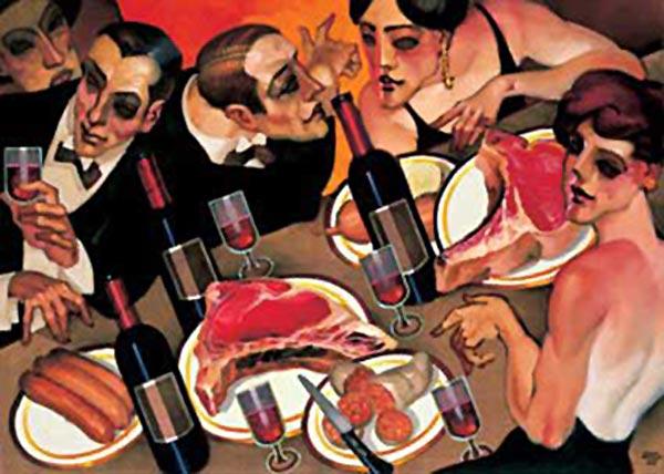 Juarez Machado. Barbecue a Paris