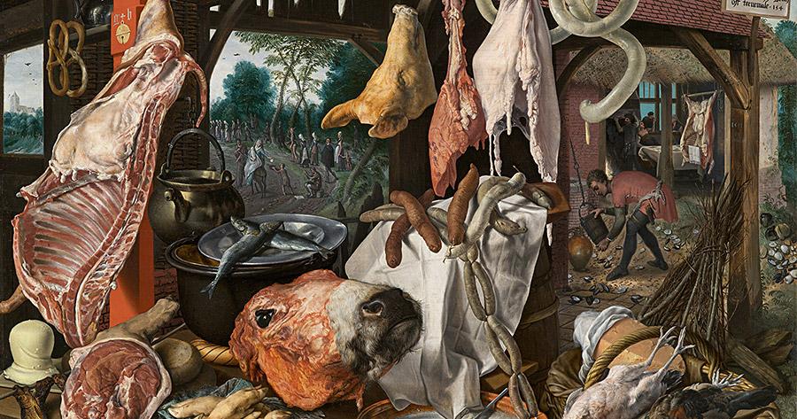 Питер Эртсен (Pieter Aertsen). Мясная лавка (1551)