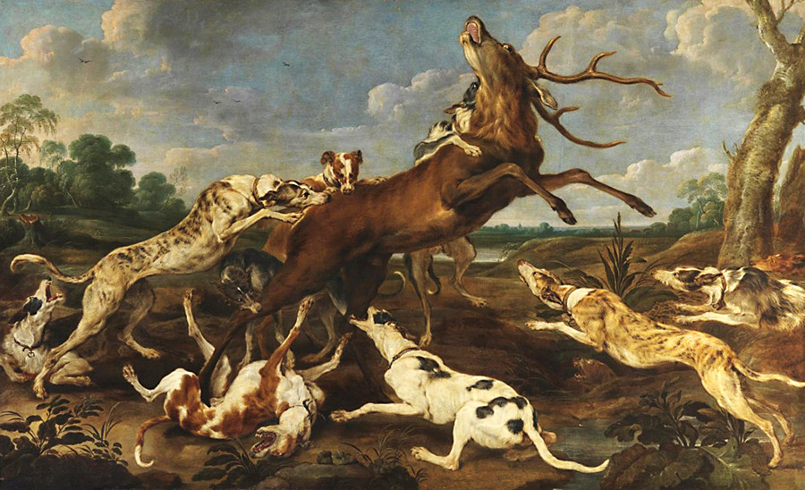 Paul de Vos_Deer beset by a pack of dogs (1637–1640).jpeg