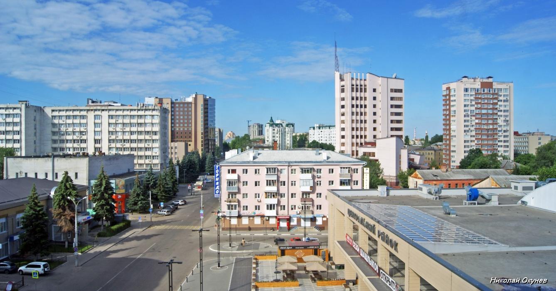 14 Центр Воронежа из окна отеля.JPG