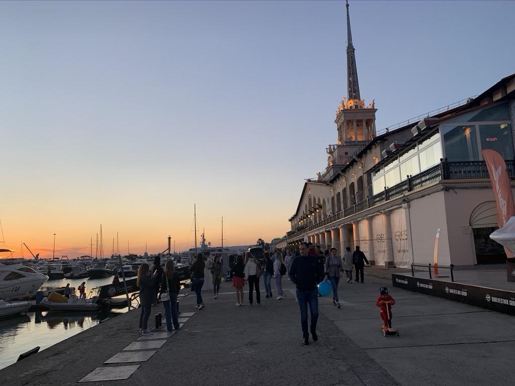 Сочи, Морской вокзал или порт или типа того.