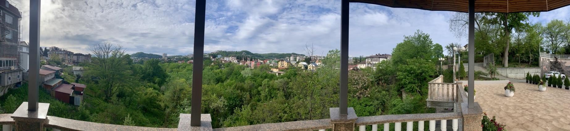 Панорама города Сочи.
