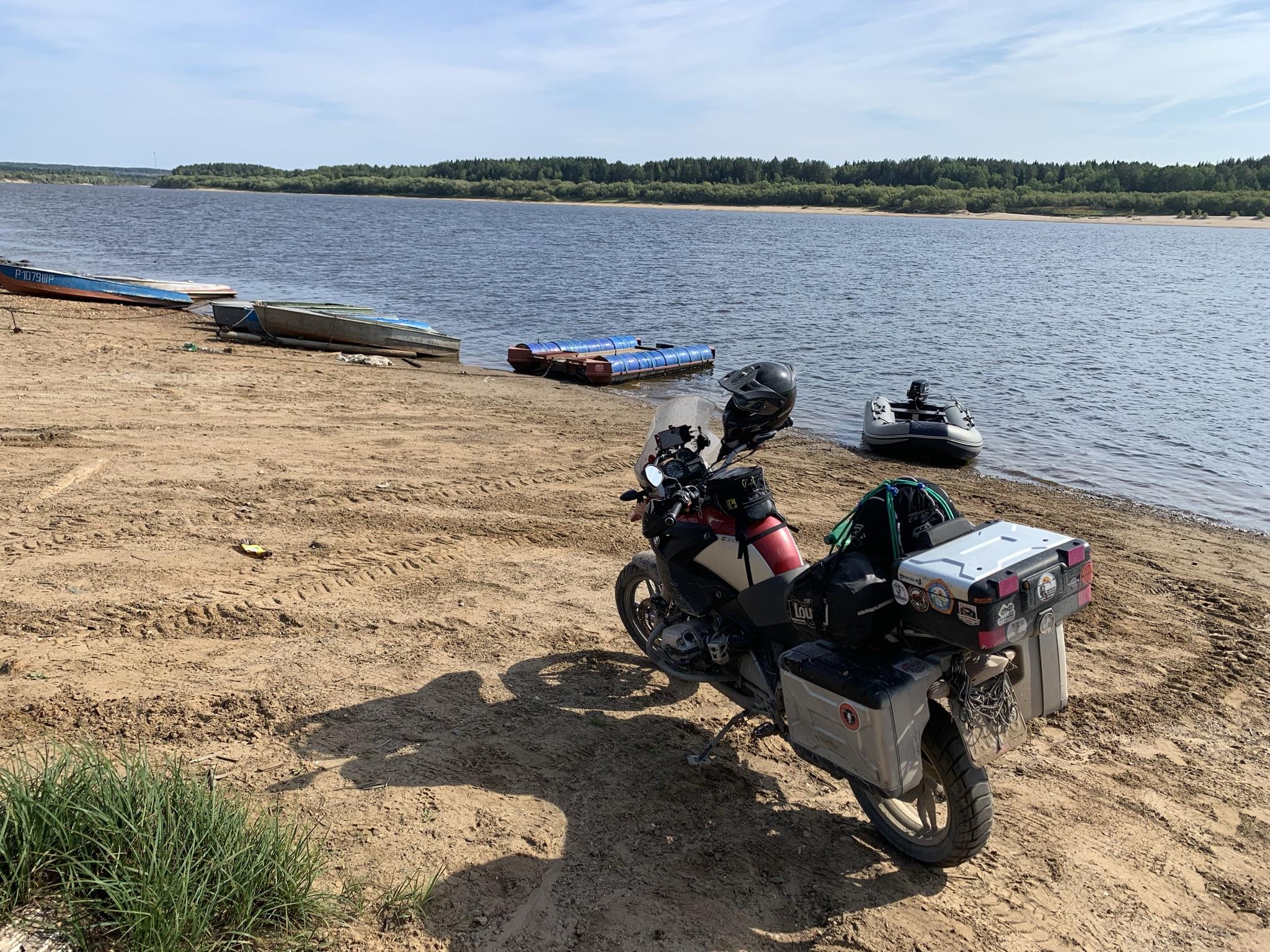 Это не пляж. Это парковка лодок.