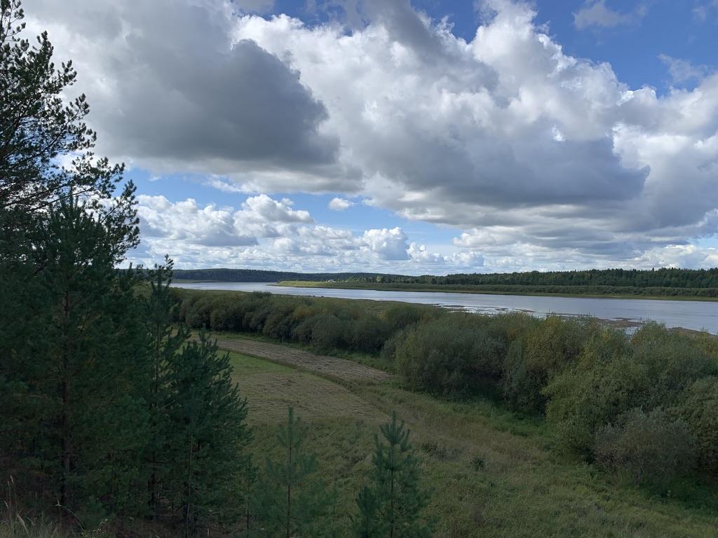 Река Вымь.