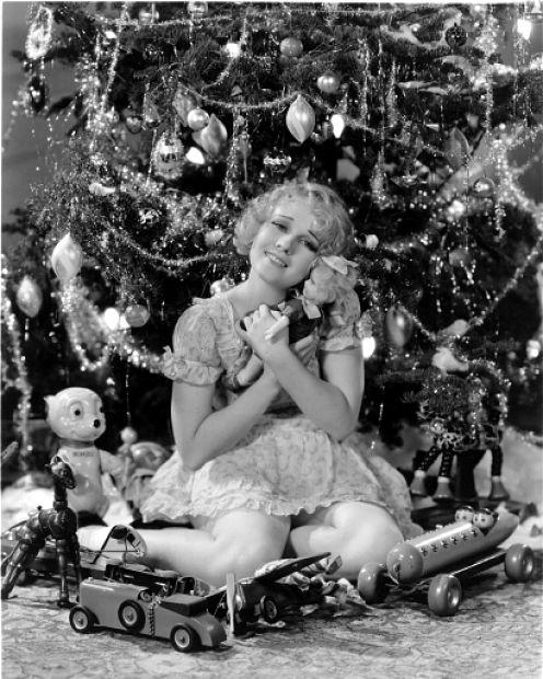 Anita Page - Christmas 1930