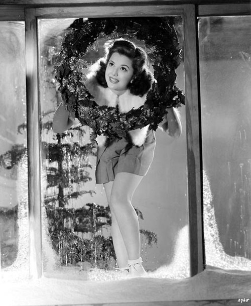 Ann Rutherford - Christmas 1940's