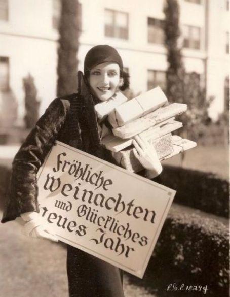 Carole Lombard - Christmas 1930's