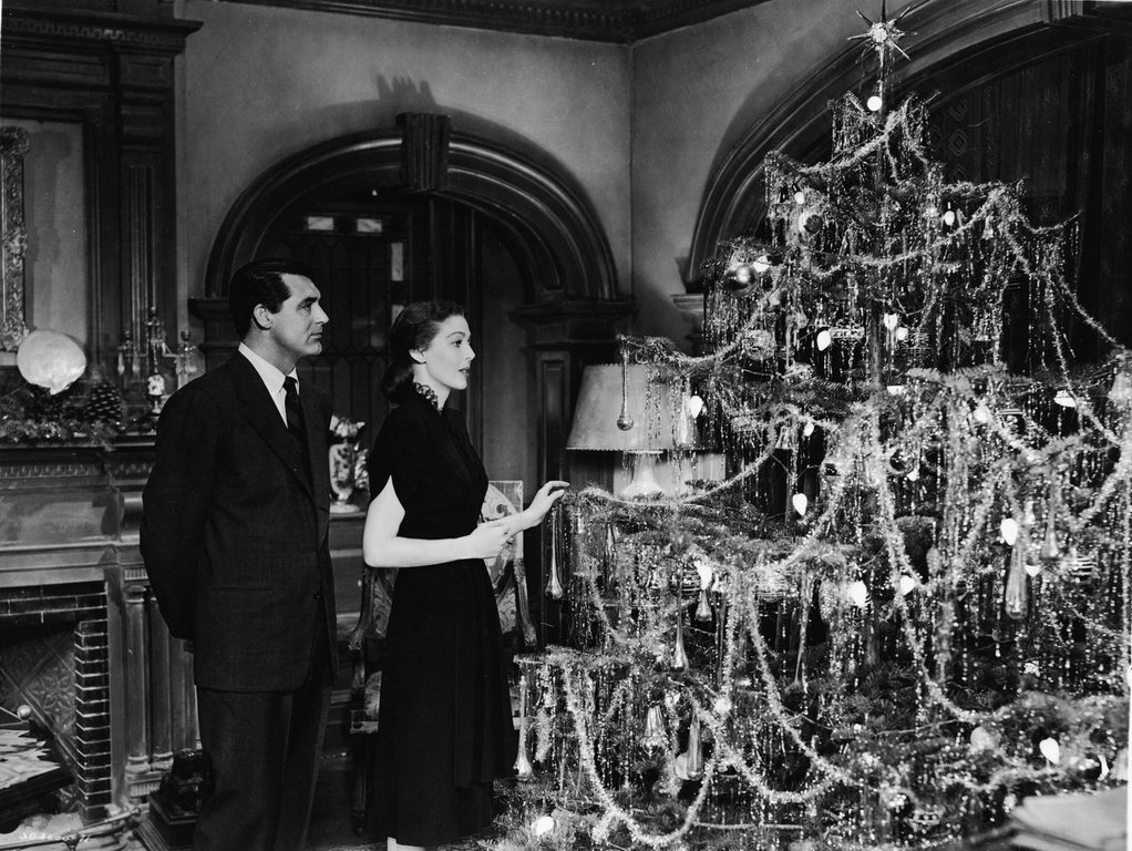 Cary Grant & Loretta Young