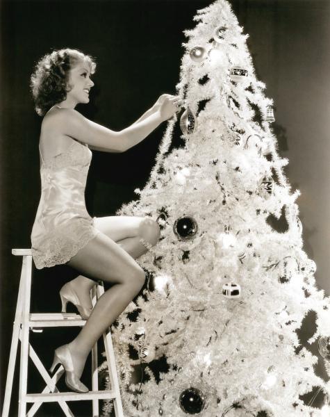 Grace Bradley - Christmas 1930s