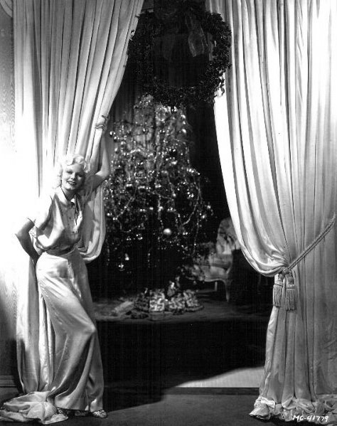 Jean Harlow- Christmas 1930s
