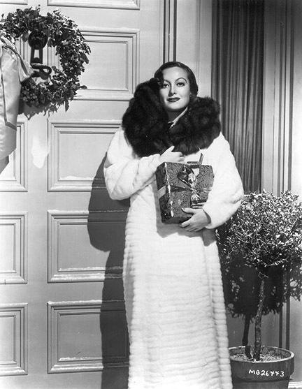 Joan Crawford - Christmas 1932