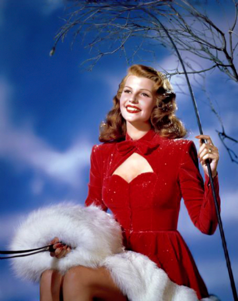 Rita Hayworth - Christmas 1940's2