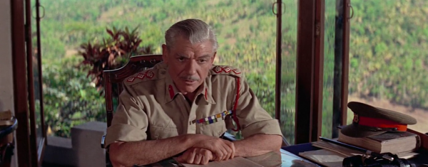 André Morell as Colonel Green in Bridge on the River Kwai