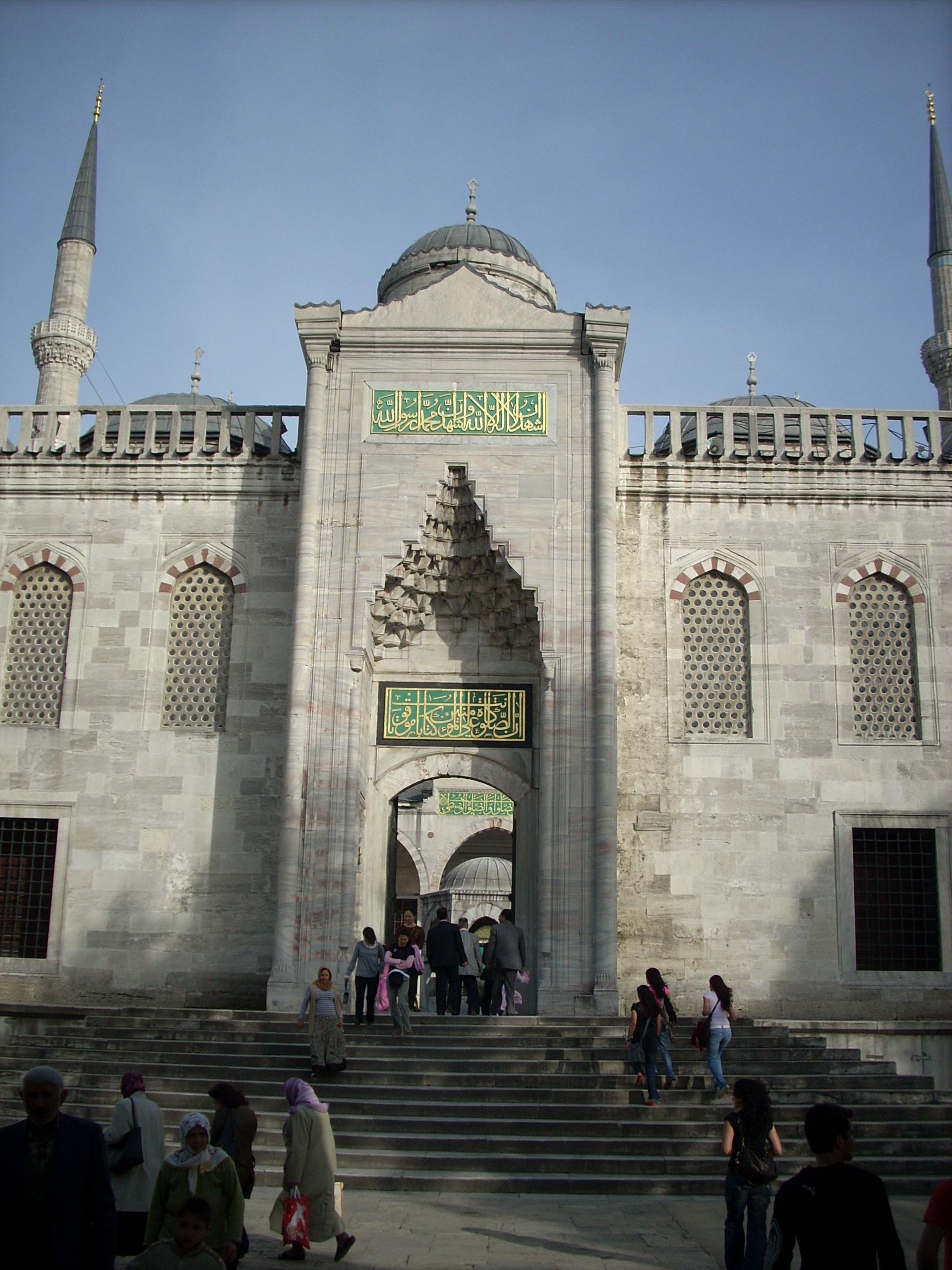 Blue Mosque entrance