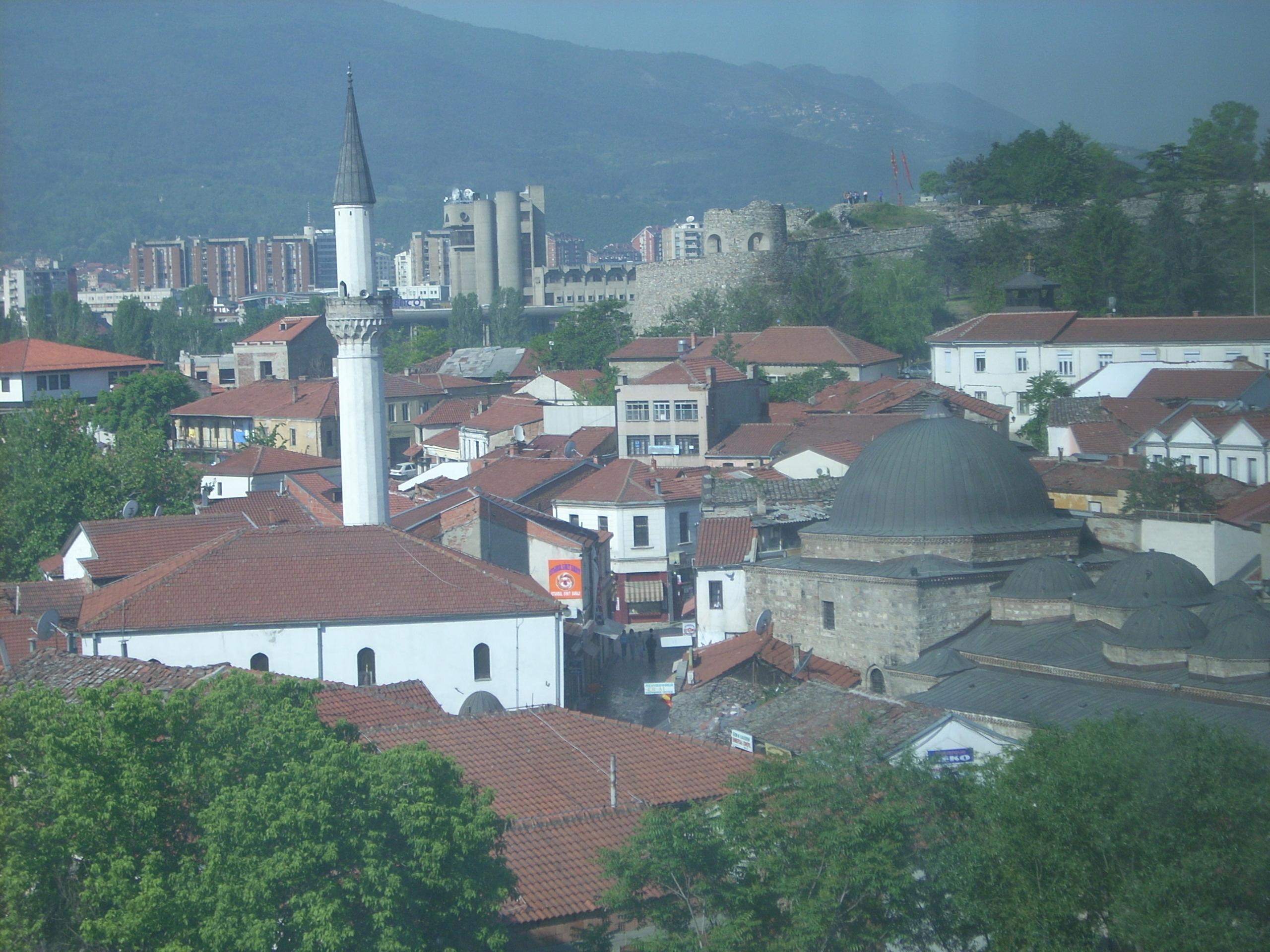 Skopje view