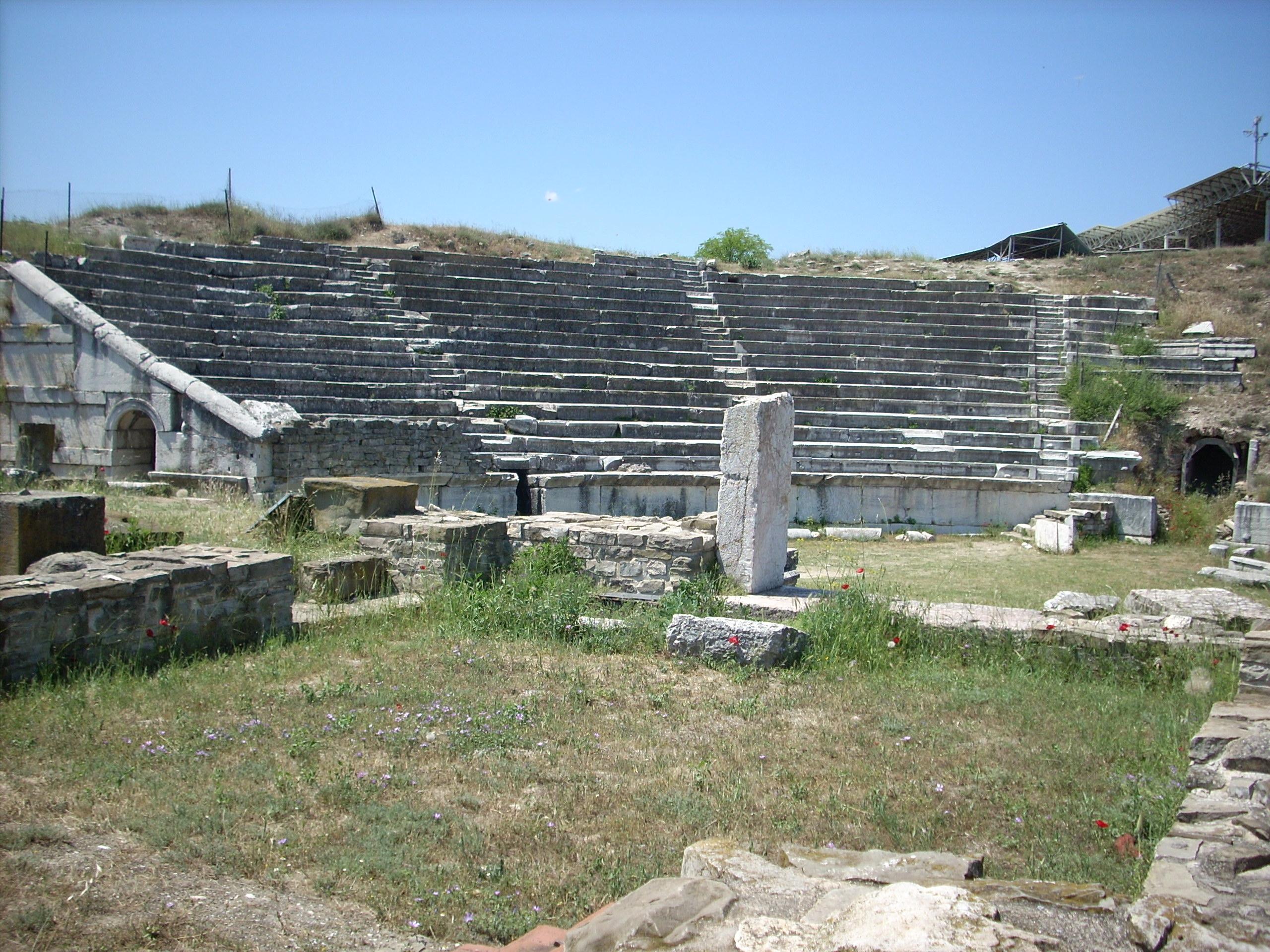Stobi theatre