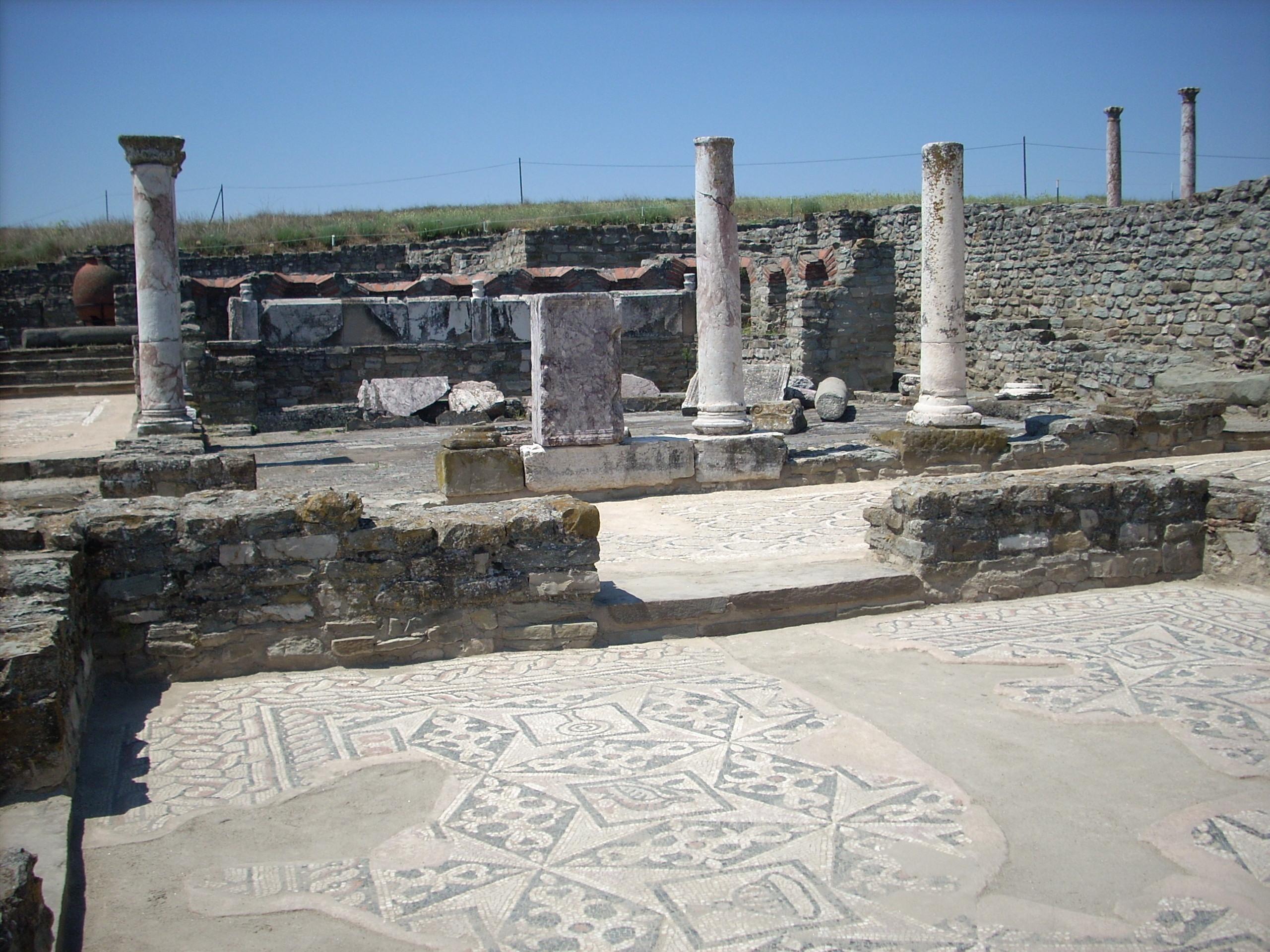 Stobi - Peristeri palace