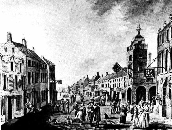 High Street, Belfast, 1786