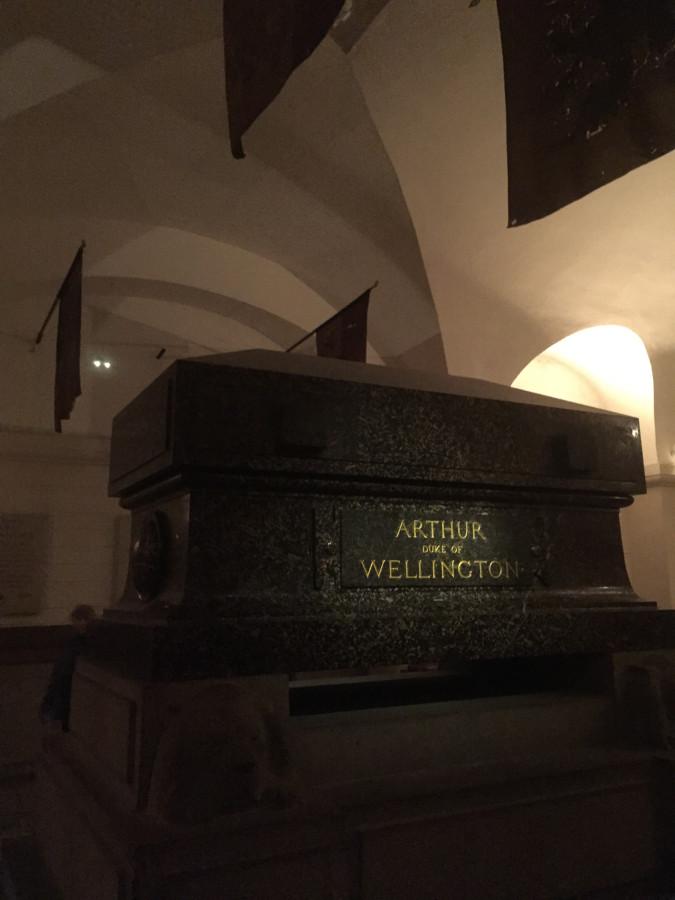 Wellington's tomb