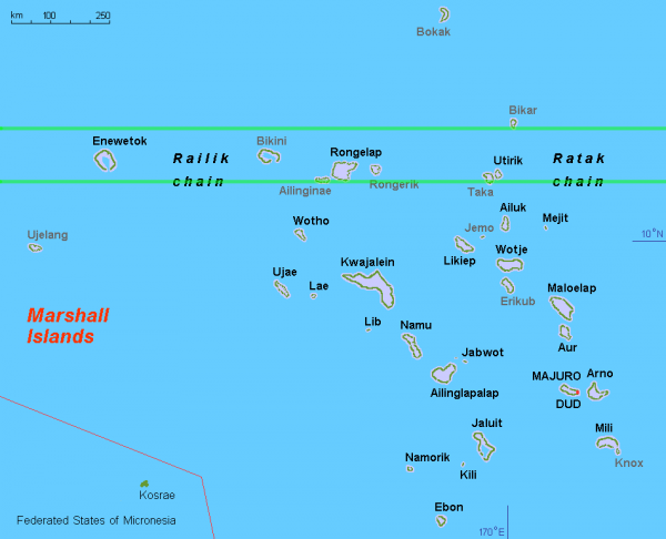 as far as i can tell the togo tobago line just ses part of ailiningae atoll it grazes the southern edge of sifo island completely covers manchinikon