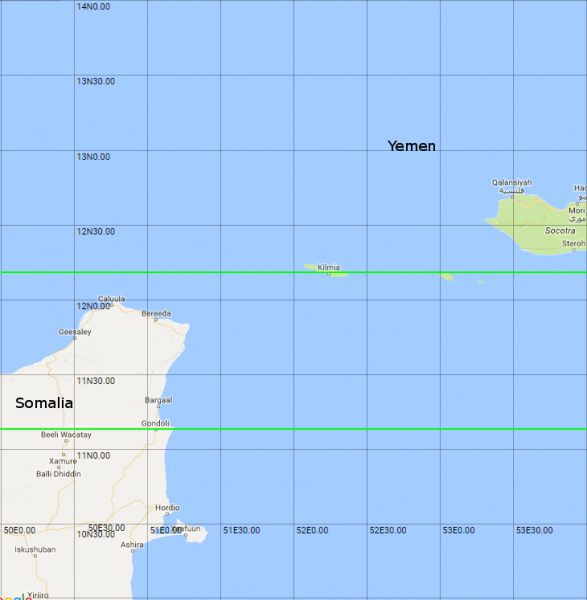 both lines now cross the indian ocean intersecting india 16 15 myanmar burma 17 16 thailand 18 17 cambodia 19 18 vietnam 20 19 and the