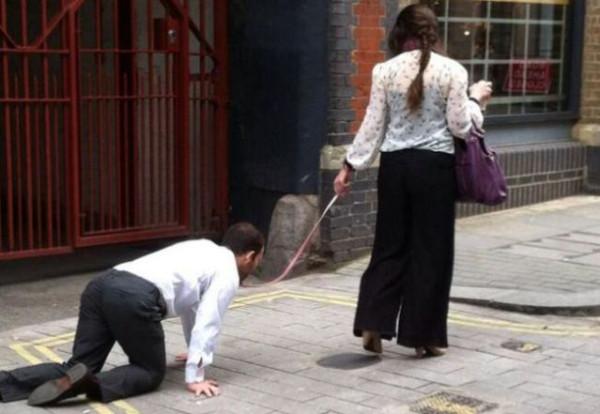 man-walked-like-dog