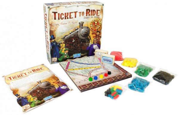 Настольная игра Ticket to Ride (Билет на поезд)