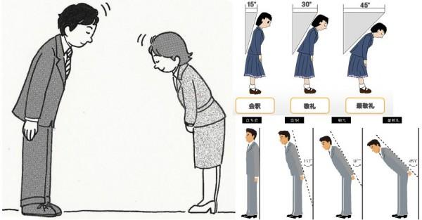 виды поклонов в японии