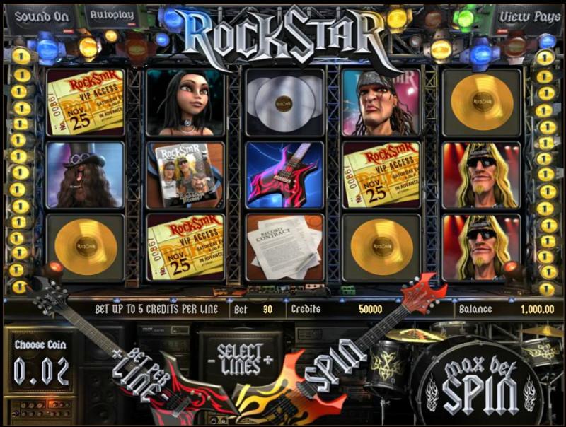 Rockstar – игровой автомат для настоящих фанатов рока