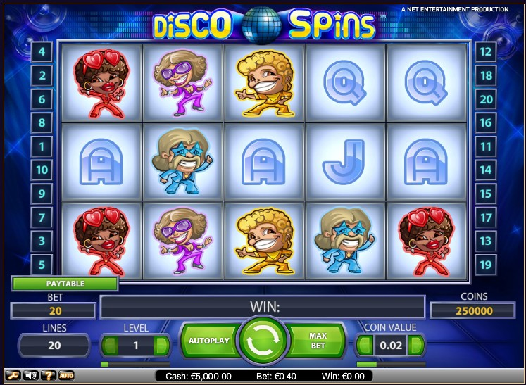 Disco Spins слот