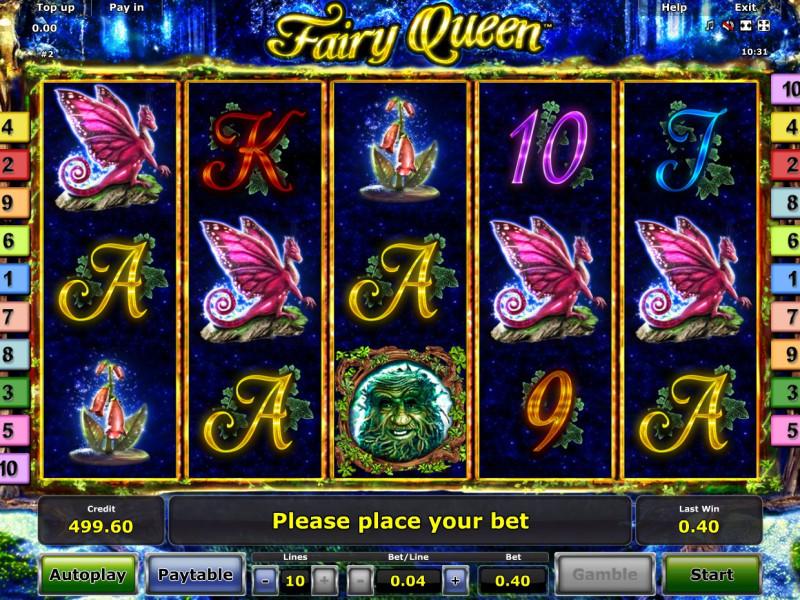 Fairy Queen слот