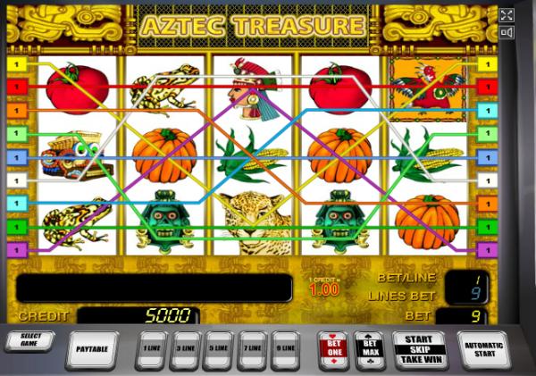 Aztec Gold слот