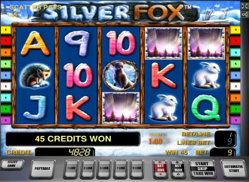 Silver Fox слот