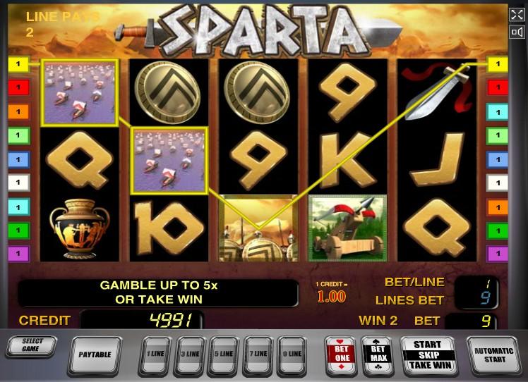 Sparta слот
