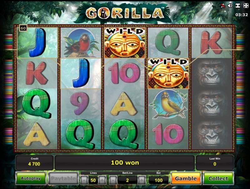 Gorilla слот