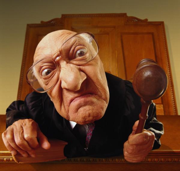 Реальные фразы в зале суда
