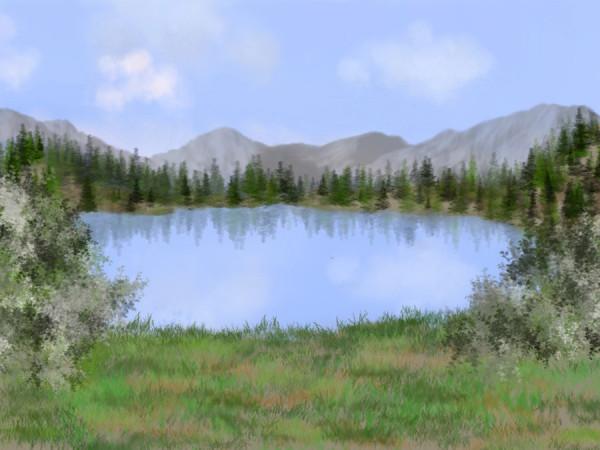 Великое создаётся по частям:Притча про Озеро