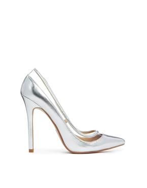 серебряные туфли асос