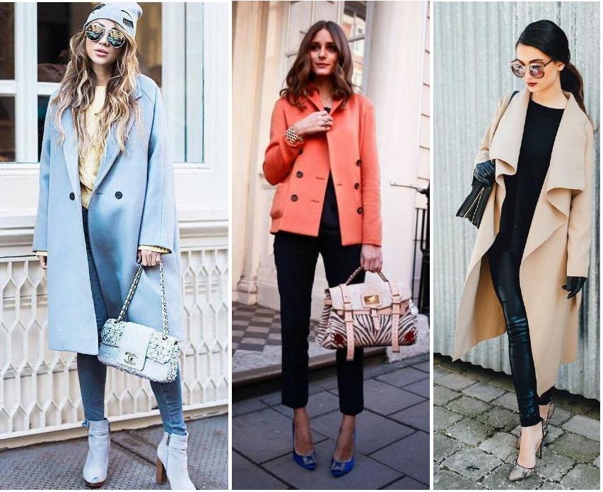 с чем носить пальто 2017 работает
