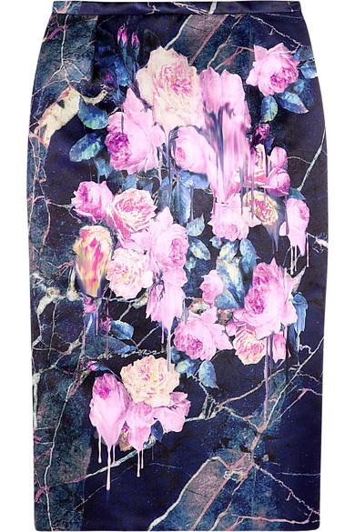юбка MGMS с цветами