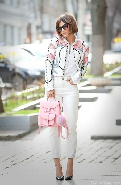 Розовый рюкзак с чем носить гусленок эрго рюкзак цена